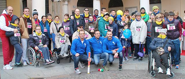 Gli organizzatori con gli Over Limits (foto © Cremaonline.it)