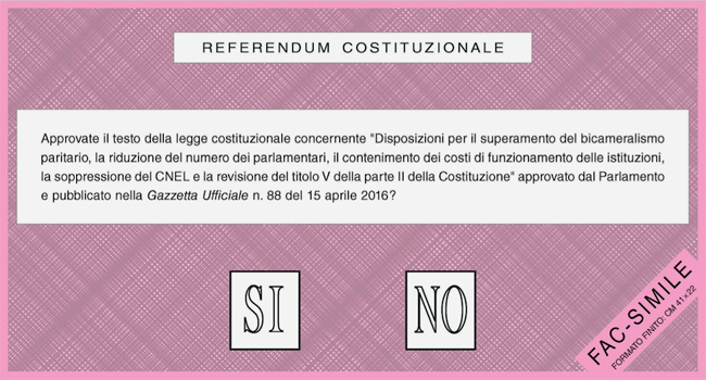 Referendum: alle ore 7 aperti regolarmente i seggi
