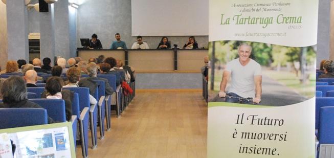 Sala Polenghi, un momento dell'incontro (foto © Cremaonline.it)