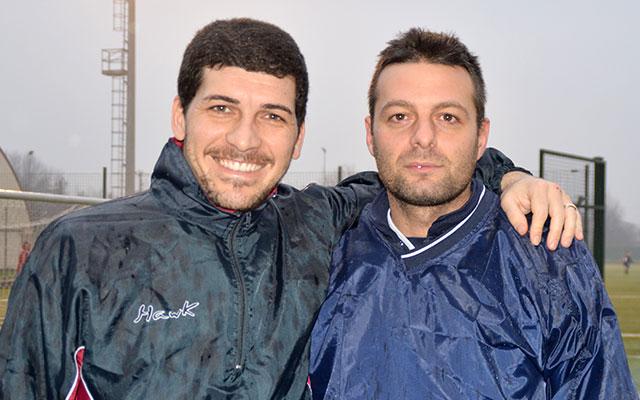 Daniele Angellotti e Daniele Viola, due dei nuovi acquisti della Rivoltana