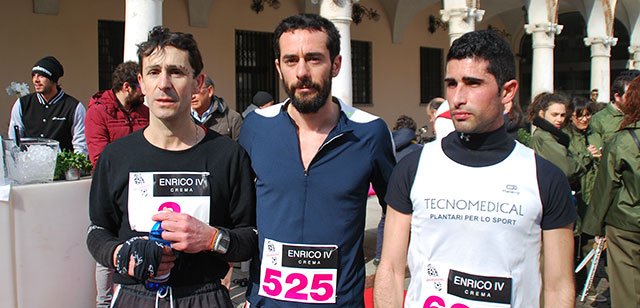 Giovanni Bardon, Jacopo Manenti e Giovanni Orrù (foto © Cremaonline.it)