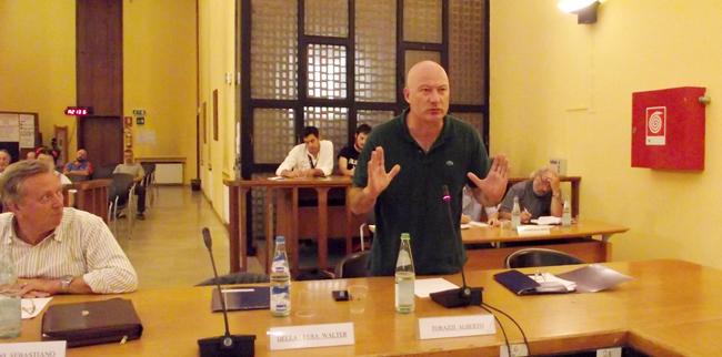 Il consigliere Alberto Torazzi (foto © Cremaonline.it)