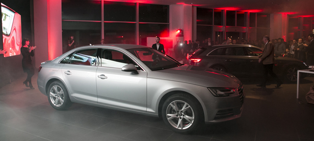 Bossoni Automobili. La presentazione della nuova Audi A4