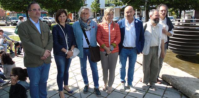 Gli organizzatori e promotori dell'iniziativa (foto © Cremaonline.it)