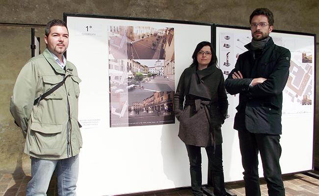 Da sinistra, Alessandro Roveri, Paola Orlandi e Paolo Ferragni (foto © Cremaonline.it)
