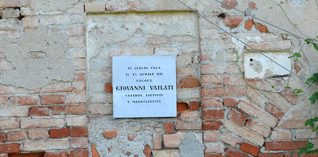 La casa natale di Giovanni Vailati (foto © Cremaonline.it)