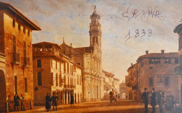 L'ex contrada di Porta Ombriano