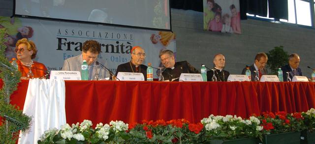 Il tavolo dei relatori (foto © Angelo Peia)