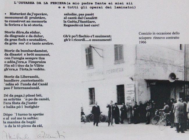 Crema. Il comizio del 1966 e la poesia di Annibale Carniti