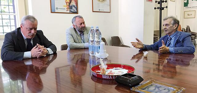 L'incontro di luglio con il direttore di Casartigiani, Nicola Molfese